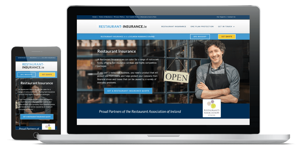 Restaurant Insurance website review